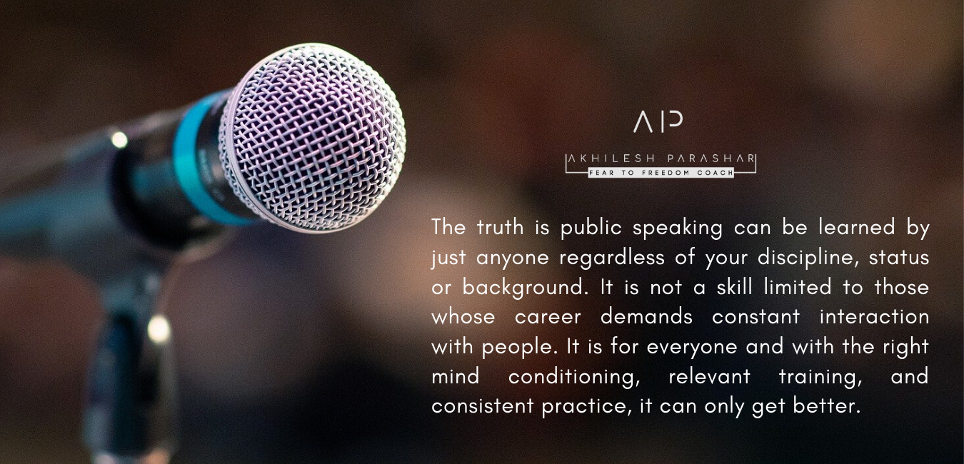 Why We Should Learn The Skill Of Public Speaking